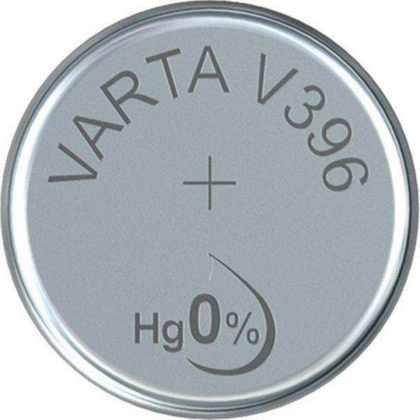 Silberoxid-Knopfzelle Typ SR59 / V396 von Varta